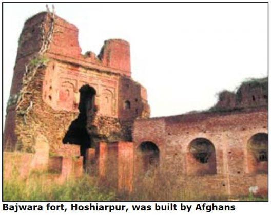 Bajwara Fort Hoshiarpur