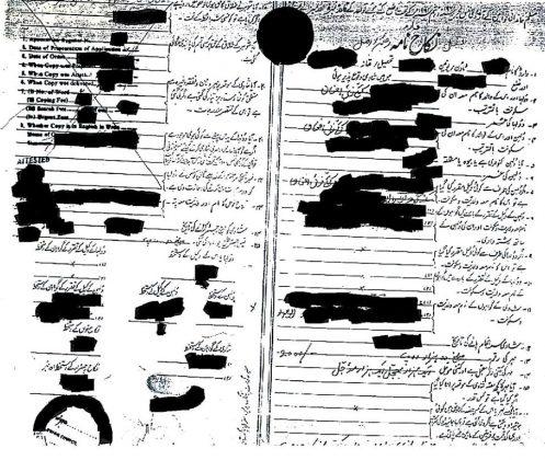 Kakazai Pashtuns Archive Document