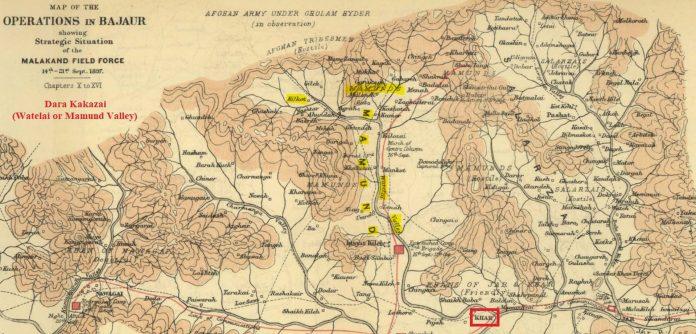 Dara Kakazai - Old Map